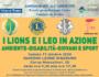 Ritorna il 17 ottobre l'evento: I LIONS e i LEO in azione ambiente-disabilità-giovani e sport